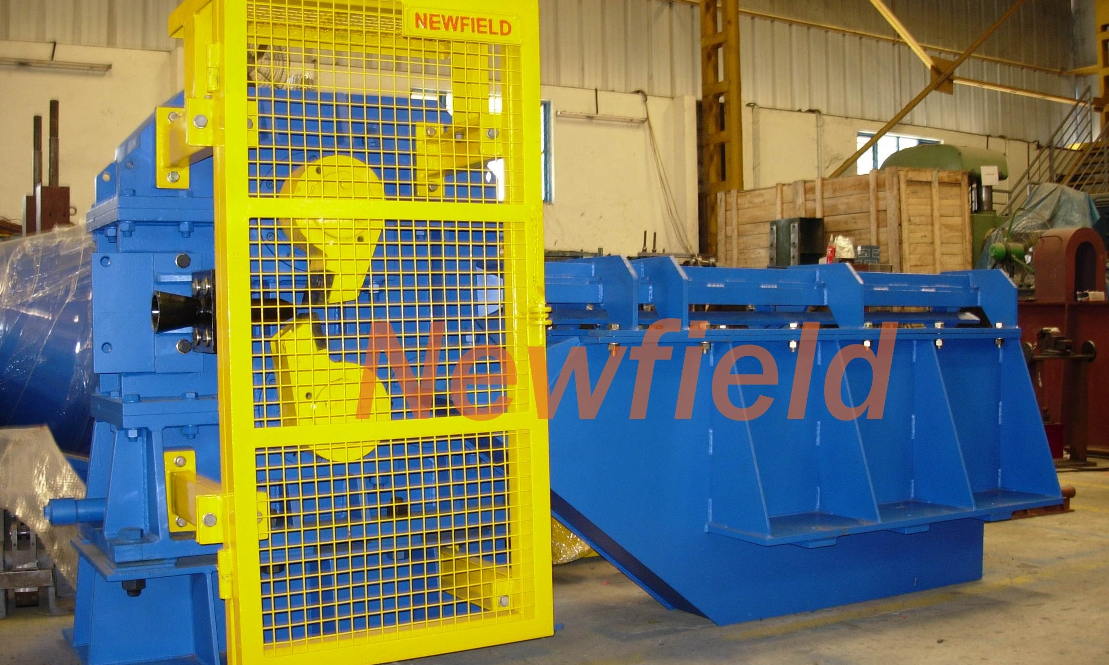 Newfield Rolling Mill Machines Circuit Design Bass Separator Crop And Cobble Shear